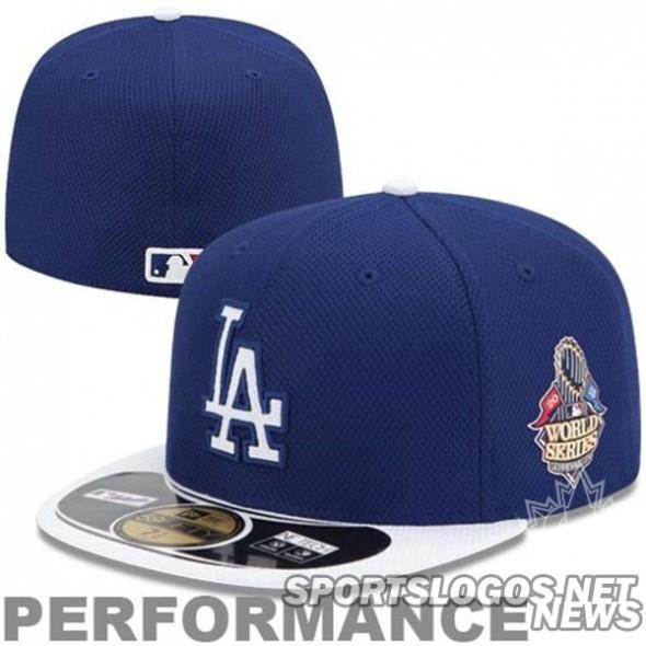 Dodgers WS Cap bp