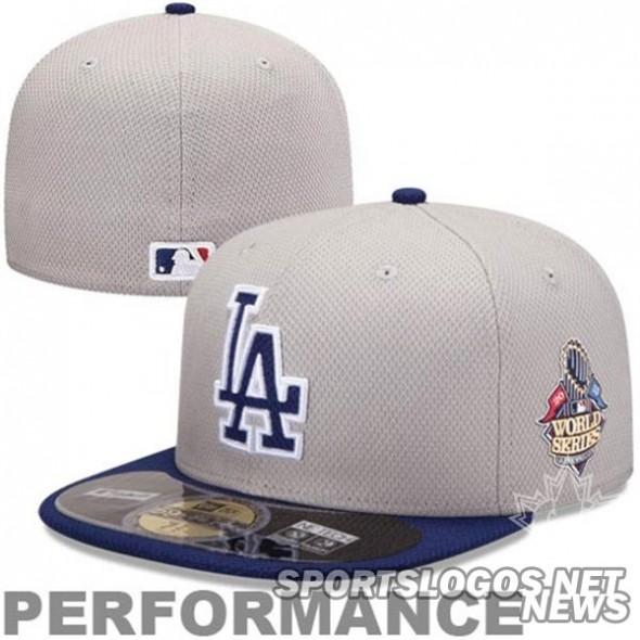 Dodgers WS cap bp2