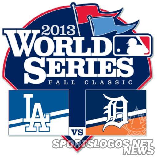 Tigers-Dodgers WS Pin