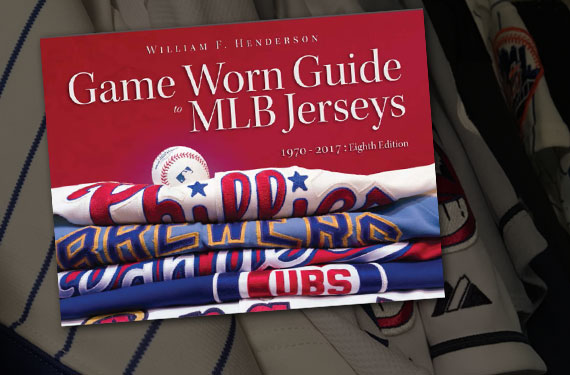 Game Worn Guide documents decades of MLB jerseys