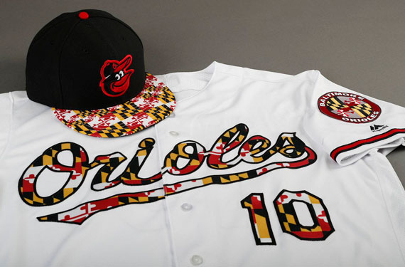Orioles to Incorporate Maryland Flag into Jerseys