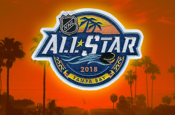 Tampa Bay the Star of 2018 NHL All-Star Logo