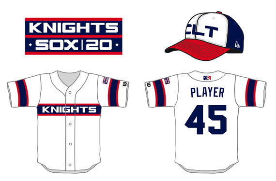 Knights honor 20 years with White Sox with awesome unis