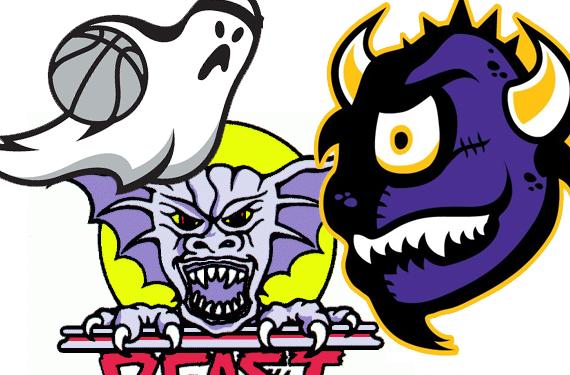 BOO! Hallowe'en Sports Logos