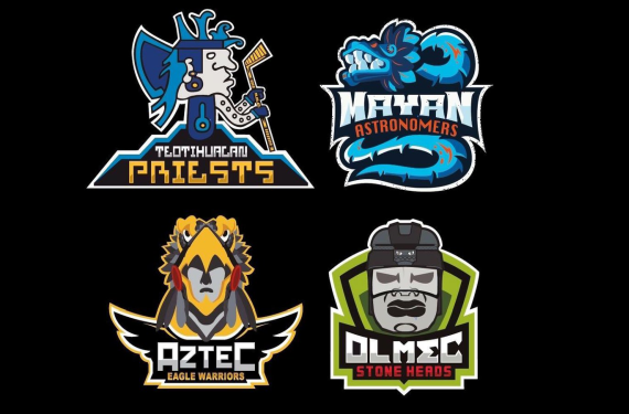 Mexican Hockey League unveils eye-catching logos and uniforms