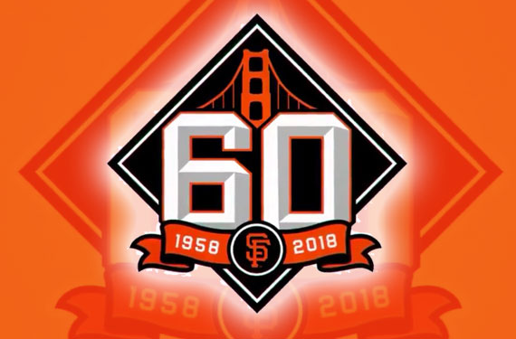 Giants Celebrate 60 Years In San Francisco