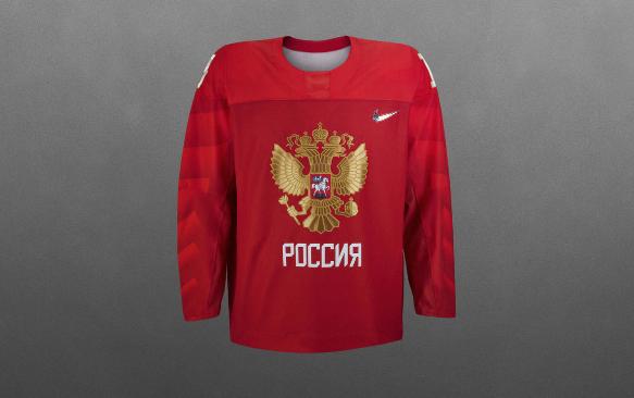 Russia 2018 Olympic Hockey Jersey