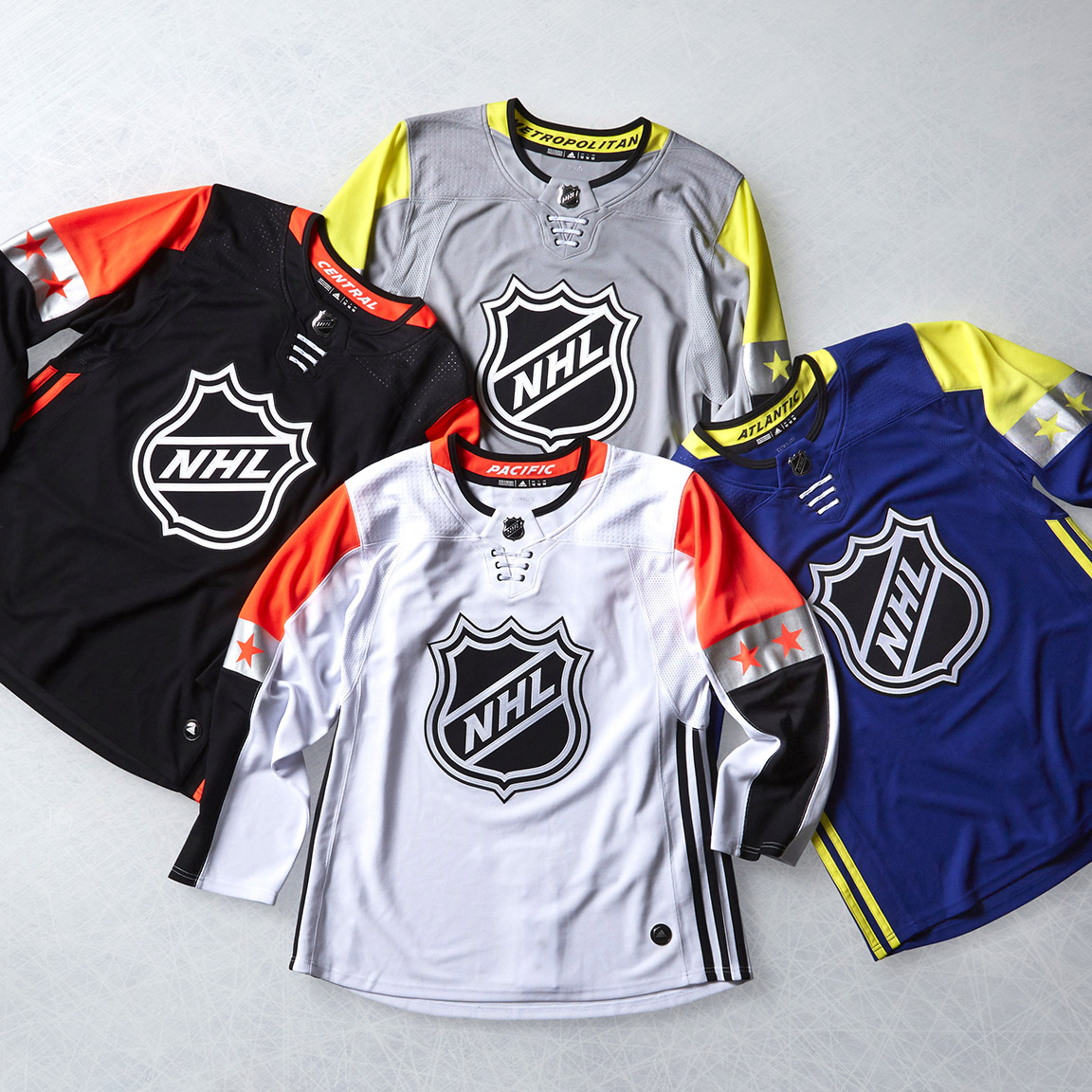 2018 NHL All-Star Game Uniforms Unveiled