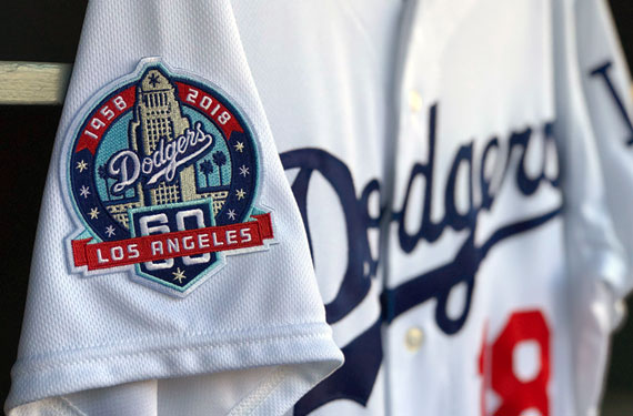 Los Angeles Dodgers Unveil 60th Anniversary Logo, Patch