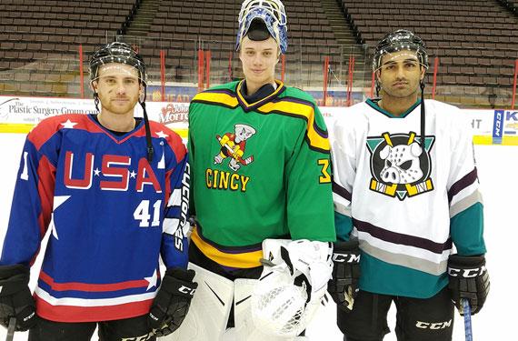 Hockey team to commemorate Mighty Ducks movies with three jerseys