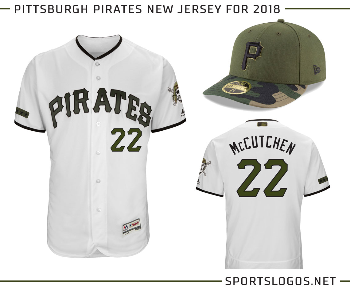 Pittsburgh Pirates Introduce New Camo Uniform for 2018