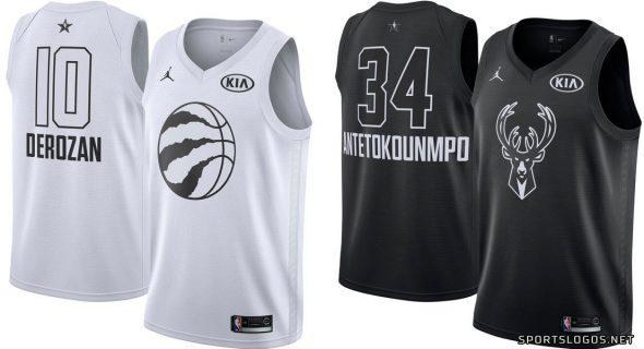 2018 NBA All-Star Game Uniforms