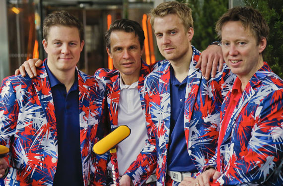 Norwegian curling pants are on the button again