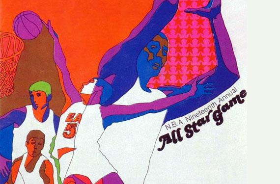 The Greatest NBA All-Star Program Cover Designs