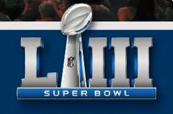 First Look Logo For Super Bowl Liii At Atlanta In 2019 Sportslogos Net News