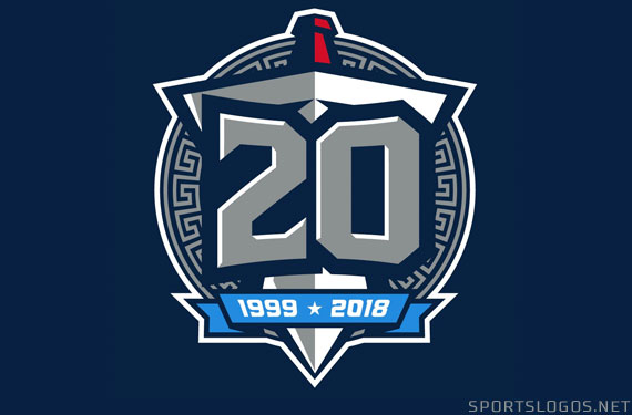 Tennessee Titans Unveil 20th Season Logo
