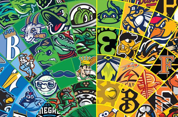 Wheel of Logos: Your 2018 Minor League Baseball Color Wheel