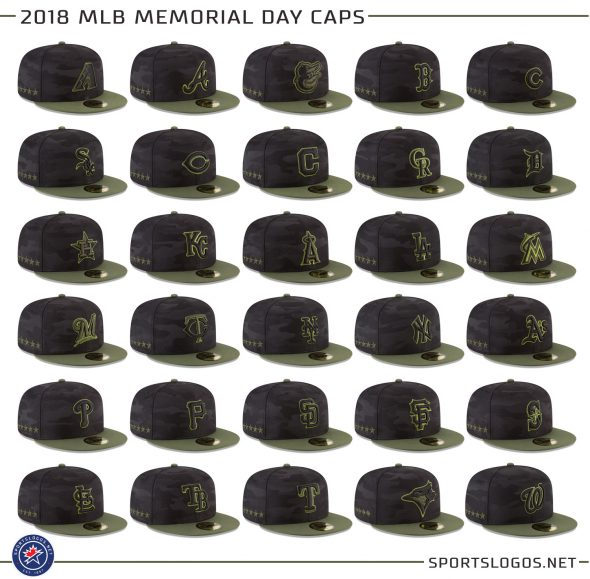 Memorial Day 2018 Mlb Wearing Green And Camo This Weekend Chris
