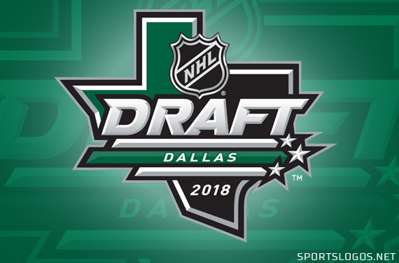 Logo for the 2018 NHL Draft in Dallas Unveiled