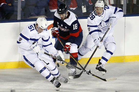 So, About Those Leafs Uniforms Last Night