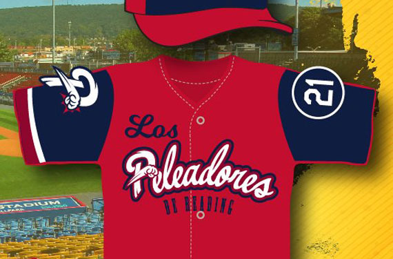Reading Fightins to honor Clemente, change name on Latino Heritage Night