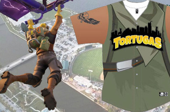 Tortugas promotion highlights Fortnite video game