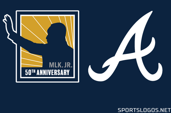 Atlanta Braves Honour Memory of MLK Jr. With Jersey Patch