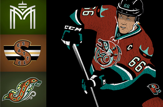 A Look at Seattle NHL Identity Concepts