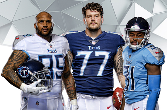 Tradition Evolved: Tennessee Titans Unveil New Uniforms