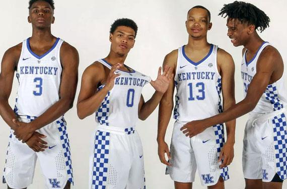 Kentucky Fans Check No to Checkerboard Uniforms