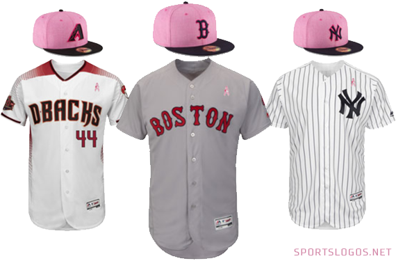 For Mom, All MLB Teams Wearing Pink