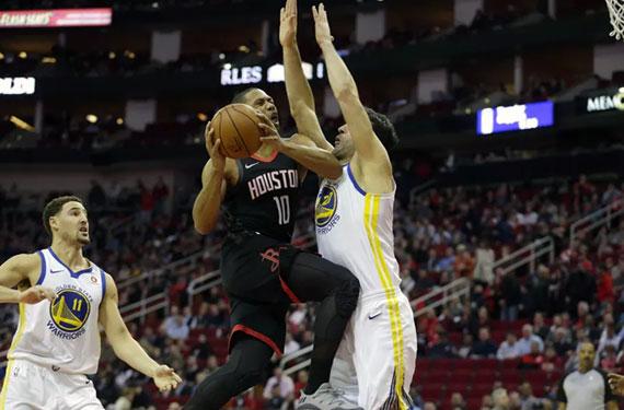 Warriors-Rockets Uniform Matchups Announced