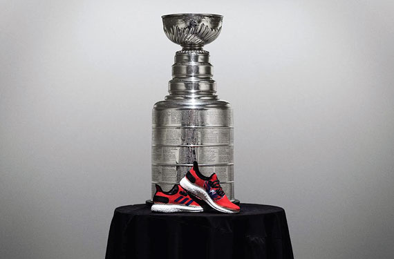 Adidas Unveils Custom Washington Capitals Running Shoe