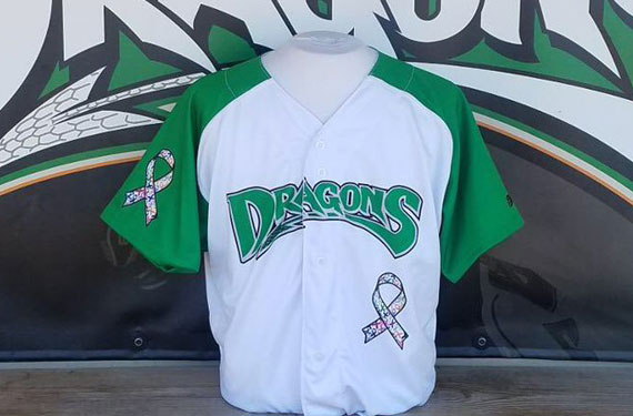 Dayton Dragons to wear promotional jersey for first time ever