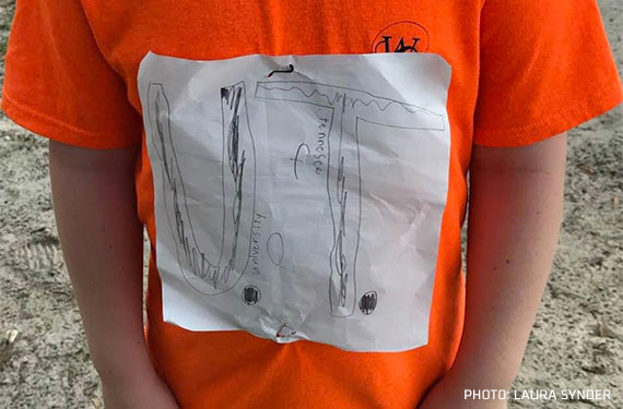 Tennessee Volunteers Adopt Bullied Student's Homemade Logo As T-Shirt Design