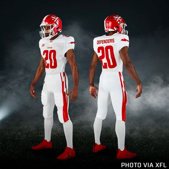 Xfl Unveils Team Uniforms For 2020 Chris Creamer S