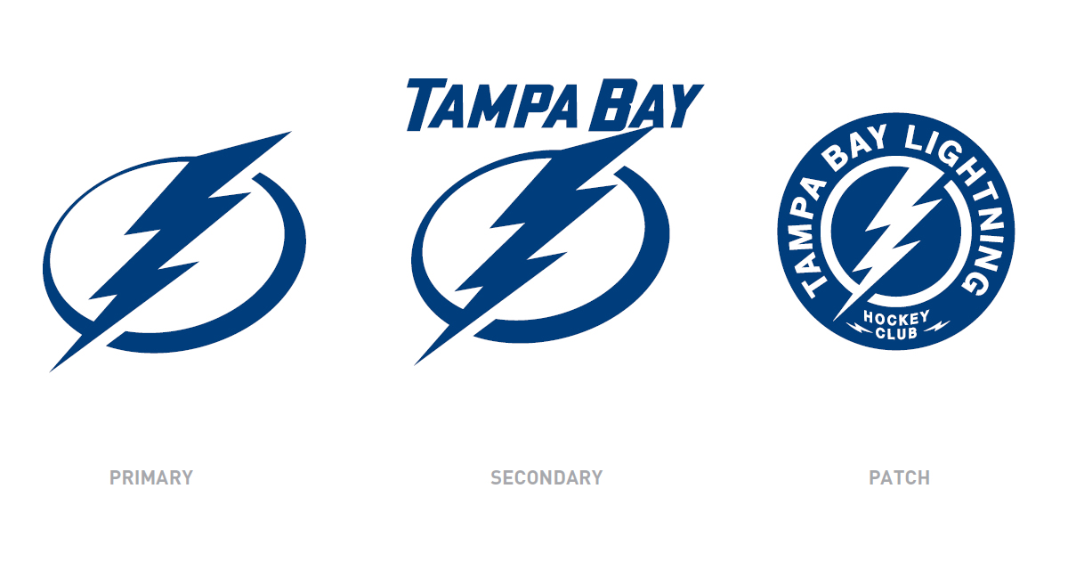 Tampa Bay Lightning Logos 2011-12