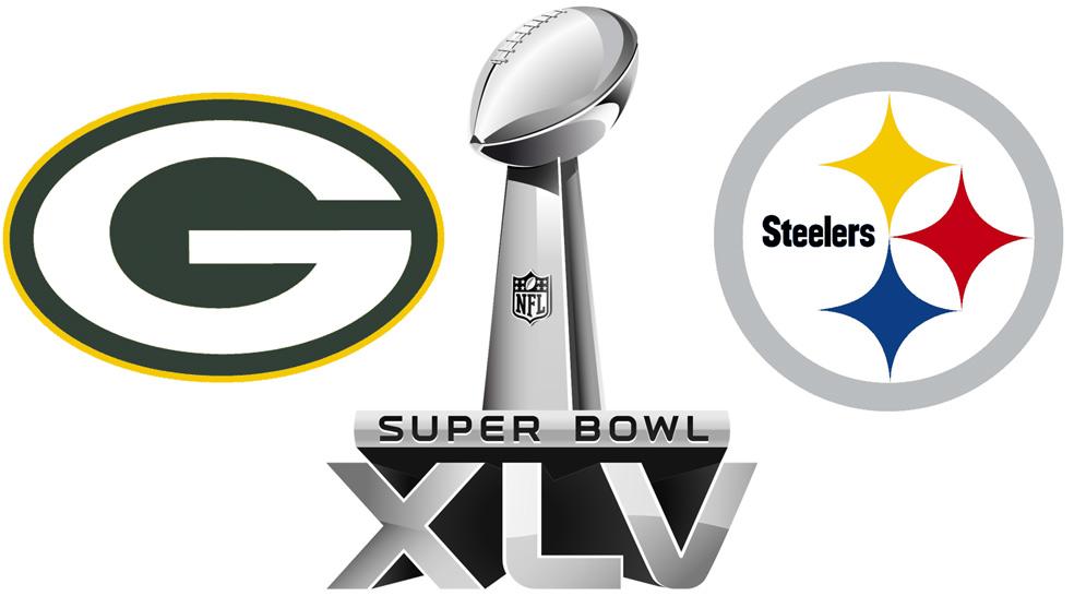 Super Bowl 45 Logo Super Bowl XLV Matchup
