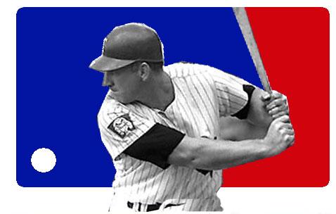 Harmon Killebrew, the MLB Logo