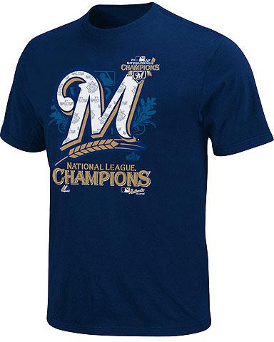 c6835199 2011 Milwaukee Brewers NL Champs Phantom Merchandise | Chris ...