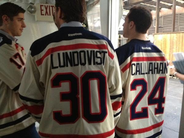 first rate f1ce6 7d09e NY Rangers Unveil 2012 Winter Classic Jersey | Chris ...