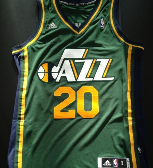 hot sale online 6c105 a842e Utah Jazz Unveil New Jersey; Debuts Dec 30 | Chris Creamer's ...