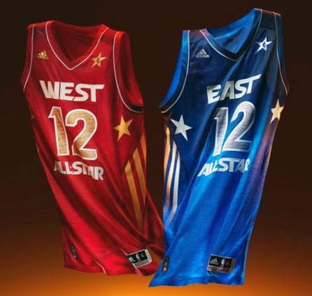 14da9c544 2012 NBA All-Star Game Uniforms Unveiled