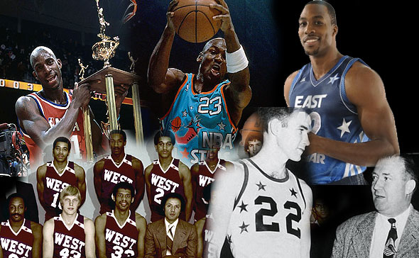 6980d94f5 A Photographic History of NBA All-Star Uniforms