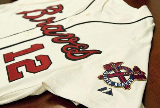 best service dbadd 51fb8 Atlanta Braves Unveil New Alternate Jersey | Chris Creamer's ...