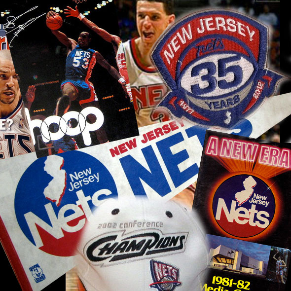 reputable site df794 40834 Farewell New Jersey Nets; a Look Back at their Brands ...