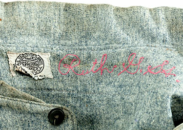 low priced 4eccd 0ca62 Babe Ruth Game Worn Jersey Sold for $4.4 million | Chris ...