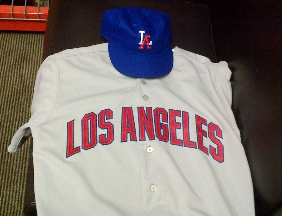 Los Angeles Angels of Anaheim 1950s PCL throwback