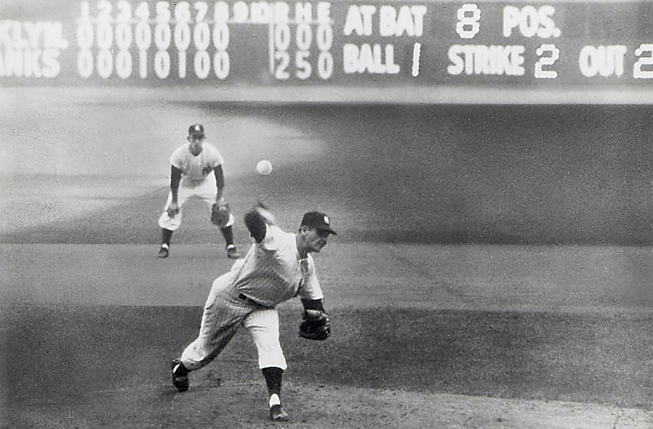 Don Larsen World Series Perfect Game 1956