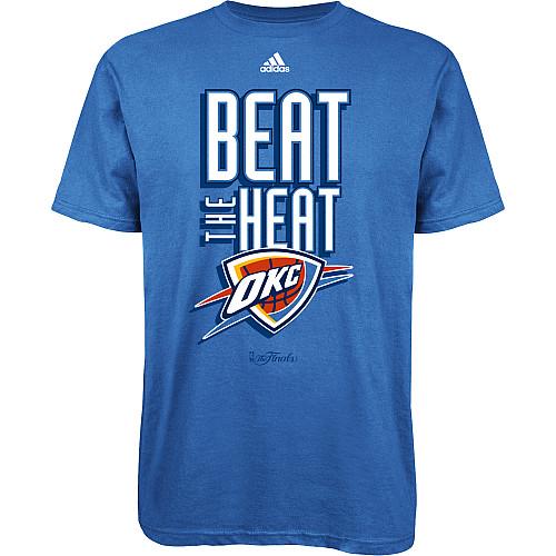 OKC Thunder Beat the Heat T-Shirt 2012 NBA Finals